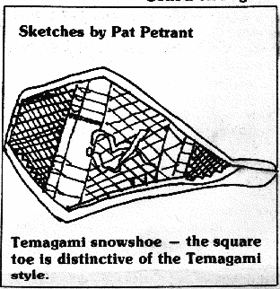 Temagami snowshoe