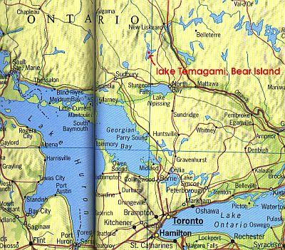 Lake Huron Ontario Map Huron Lake Ontario Canada